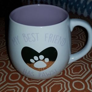 My Best Friend Has Paws Large Coffee Mug